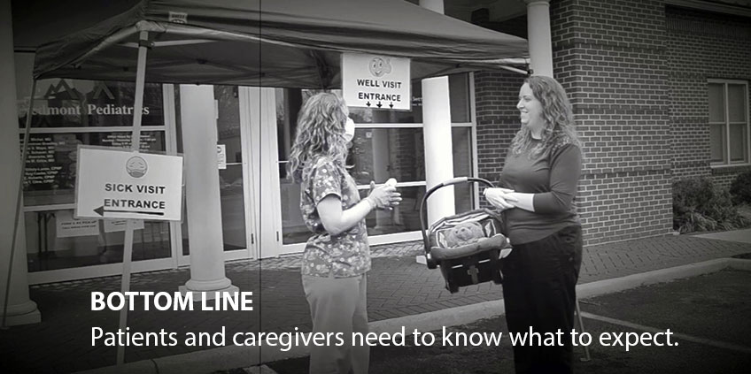 Bottom line: Patients and caregivers need to know what to expect.