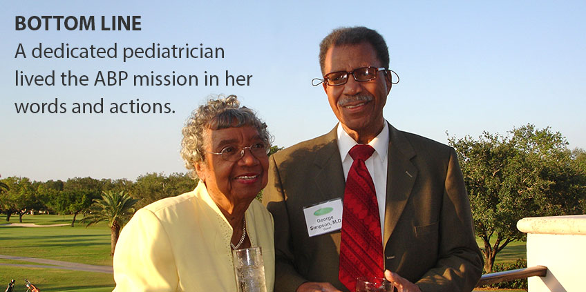 Drs. Dazelle and George Simpson