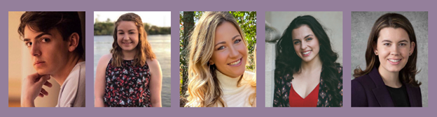 Bradley Barefoot, Ashley Broadwater, Jillian Daly, Maren Garner, and Hope Motzenbecker